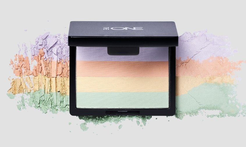 The ONE Colour Correcting & Fixing Powder-min